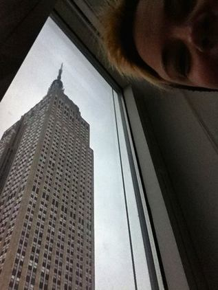 AIR BNB Empire State Building Manhattan view 5th Avenue Kal Lavelle New York